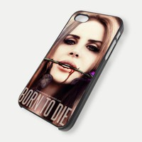 Lana Del Rey On IPhone Case 4 / 4S .. on Luulla