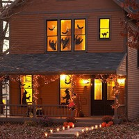 Halloween Decorations / window silhouettes