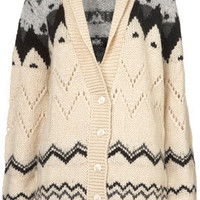 Tall Chunky Fairisle Cardigan - New In This Week  - New In