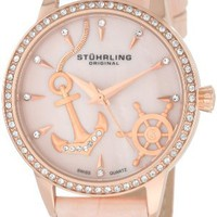 Stuhrling Original Women's 520.1145A9 Vogue Audrey Verona Del Mar Swiss Quart...