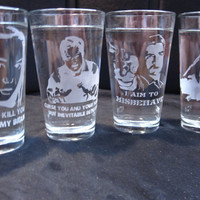Firefly 16 oz Glasses-Set of 4