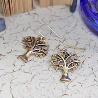 learning tree earrings - $12.99 : ShopRuche.com, Vintage Inspired Clothing, Affordable Clothes, Eco friendly Fashion