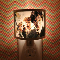 Harry Potter Night Light  3 designs to Choose from nursery bathroom hallway bedroom TAKE IT with