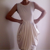 SammiEcofriendly Bamboo Jersey dress with Silver Silk by Leanimal