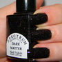 Black Holographic Glitter nail Polish DARK MATTER