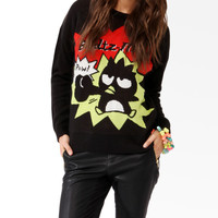 Badtz-Maru® Comic Strip Sweater