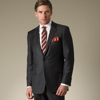 Grey Two-Button Suit - Suits & Separates - Menswear - Shop online