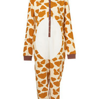 Giraffe Novelty All In One - Nightwear - Lingerie &amp; Nightwear  - Clothing