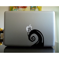 Nightmare Before Christmas  Mac sticker mac decal macbook sticker macbook decal