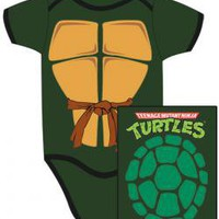 ROCKWORLDEAST - Teenage Mutant Ninja Turtles, Baby Clothes, Turtle Shell