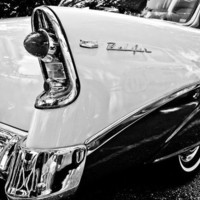 Chevrolet BelAir Black &amp; White Fine Art Photograph
