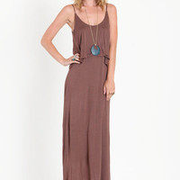 Steady Ground Tiered Maxi Dress / ThreadSence.com