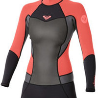 Wetsuit Wearhouse: 2mm Women's Roxy SYNCRO L/S Springsuit