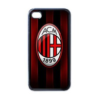 Apple iPhone Case - AC Milan Football Club Logo F.C. - iPhone 4 Case