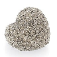 Holiday Pave Heart Ring - M5113006 - Marc By Marc Jacobs - Womens - Jewelry and Hair Accessories - Marc Jacobs