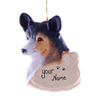 Welsh Corgi Personalized Christmas Ornament Pet Lovers Ornament Personalized with your Dogs Name