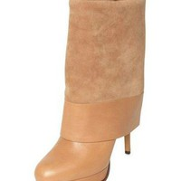 CASADEI 110MM CALF FOLD  BOOTS