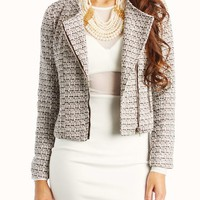 tweed-moto-jacket WHITEBLACK - GoJane.com