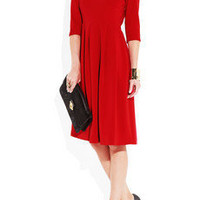 Giulietta - Silk-blend crepe dress