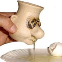 Snot-A-Mug Egg Separator: Kitchen & Dining