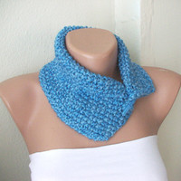 BLUE SKY Wool Neckwarmer-Scarf