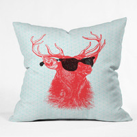 """Nick Nelson Young Buck Throw Pillow - Indoor / 26"""" x 26"""" / Pillow Cover Only"""