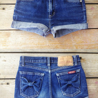 High Waisted shorts with Bows