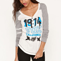 Fox Numbers Henley Tee at PacSun.com