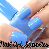 nailartsupplies | Baby Blue - Light Sky Blue Nail Polish Lacquer 16ml | Online Store Powered by Storenvy