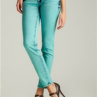 HYDRAULIC Indie Colored Skinny Jean In Aqua