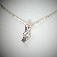 Mystic Topaz Pear Shape Diamond Jewelry Necklace, Sterling Silver