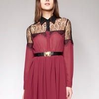 Garnet lace dress [Xst1777] - $48 : Pixie Market, Fashion-Super-Market