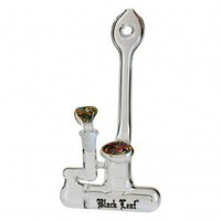 Black Leaf - Sunny Afternoon Inline Perc Glass Bubbler - Bongs and Waterpipes - Smoking Pipes - Grasscity.com