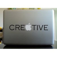 Amazon.com: Apple Macbook Vinyl Decal Sticker - Creative: Everything Else