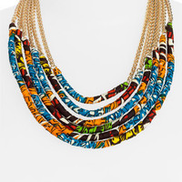 Cara Couture 'Tribal' Multistrand Necklace | Nordstrom