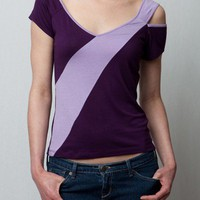 $25.00 Split Sleeve contrast tshirt top, Available in 4 colors by heartsfromJS