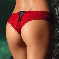 Lace-trim Cheeky Panty