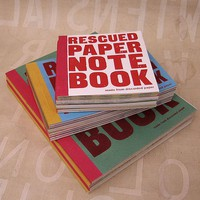 piiqshop - Market Place - Rescued Paper Notebook