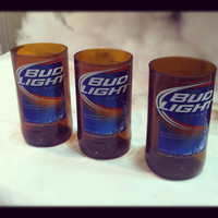 Bud Light Cut Glass