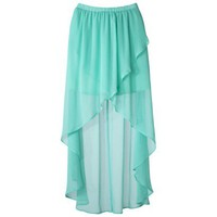 Xhilaration® Juniors Hi-Low Maxi Skirt - Assorted Colors