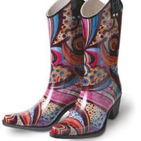 Monet Rain Boots - Cowboy