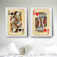 Royal Wedding:2 BIG posters King & Queen by petekdesign