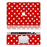 Polka Dot Macbook Cover