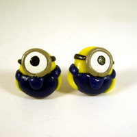 Despicable Me Minion Stud Earrings