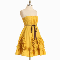 esperanza rising ruffle dress - $89.99 : ShopRuche.com, Vintage Inspired Clothing, Affordable Clothes, Eco friendly Fashion