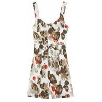 Dolce & Gabbana Playsuit With Floral Print??230?cheap Dolce & Gabbana?clothes?Dolce & Gabbana