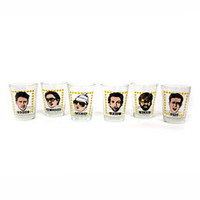 The Hangover Shot Glass Set of 6: WBshop.com - The Official Online Store of Warner Bros. Studios