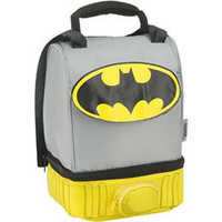 Batman Cape Dual Compartment Lunch Kit: WBshop.com - The Official Online Store of Warner Bros. Studios