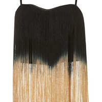 **Ombre Fringe Top by Rare - Tops  - Clothing