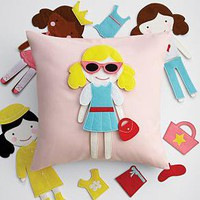 doll party pillow from RedEnvelope.com